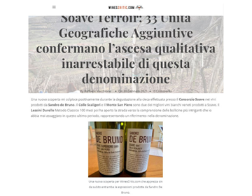 WINESCRITIC - SOAVE E TERROIR